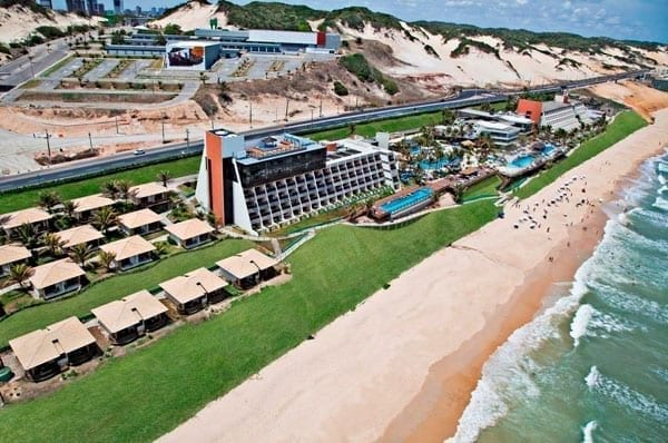 Resort Réveillon 2019 All Inclusive: Ocean Palace Beach Resort & Bungalows, Natal.