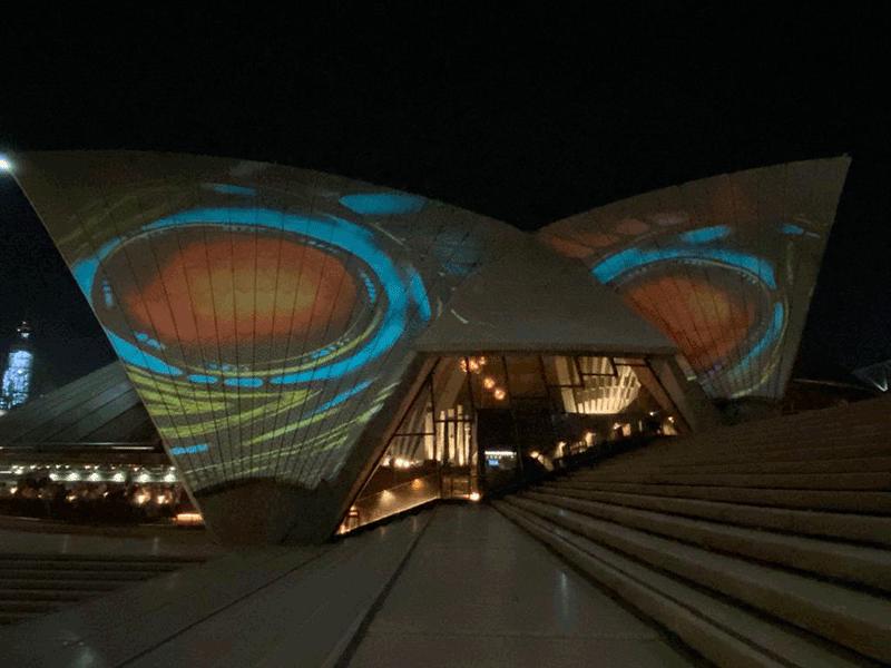 opera house de noite