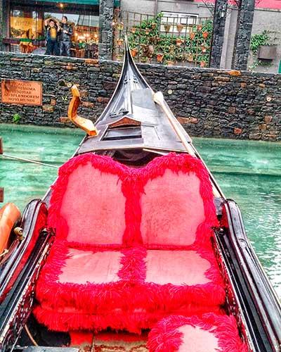 passeio gondola nova veneza
