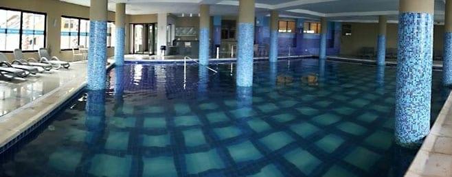 piscina aquecida malai manso