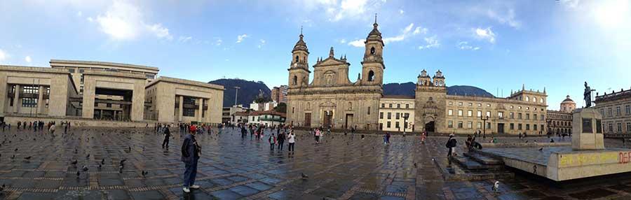 plaza bolivar bogota