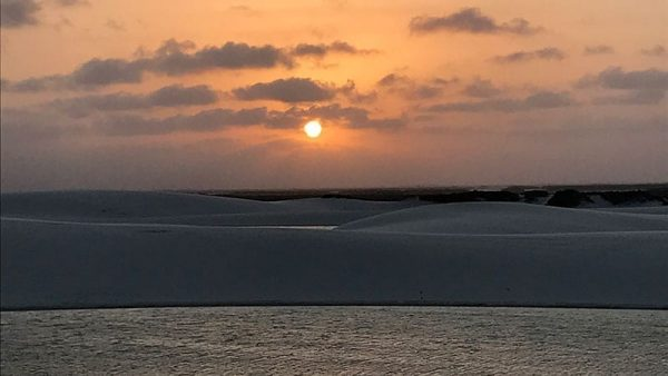 por do sol lencois maranhenses