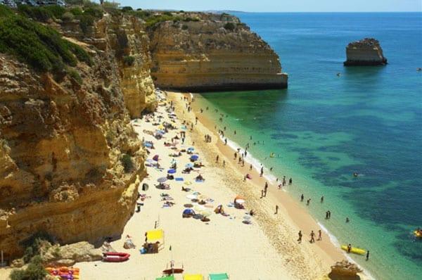 Praias da Europa: Marinha, Algarve, Portugal