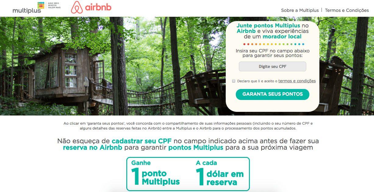 promocao airbnb multiplus