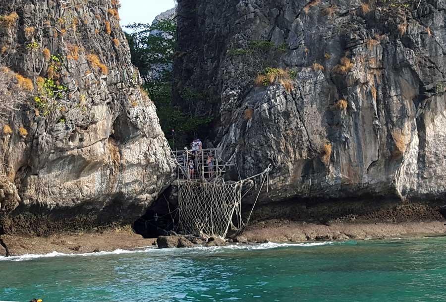 desembarque maya bay
