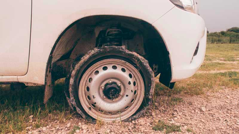 riscos viagem de carro namibia