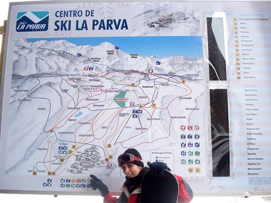 esquiar la parva