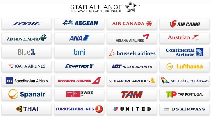 star alliance cias aereas
