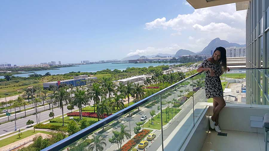 suite balcony hilton barra rio