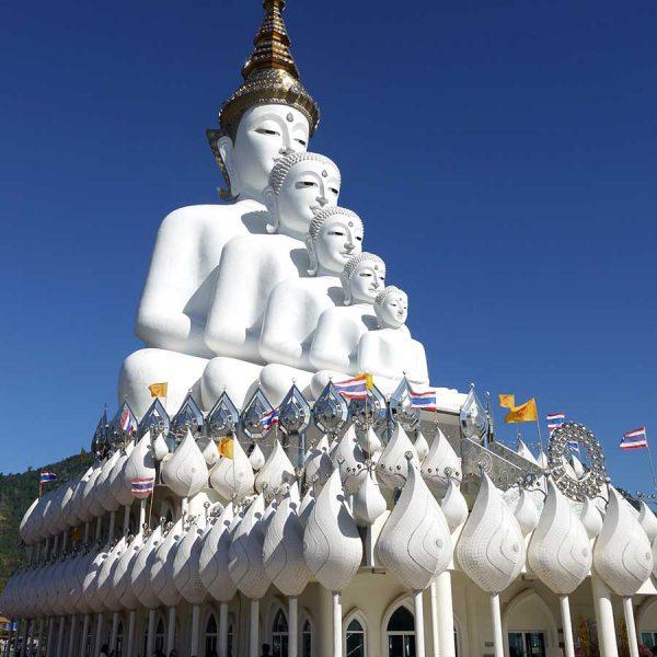 templo zona rural tailandia