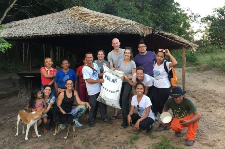 trabalho voluntario amazonia