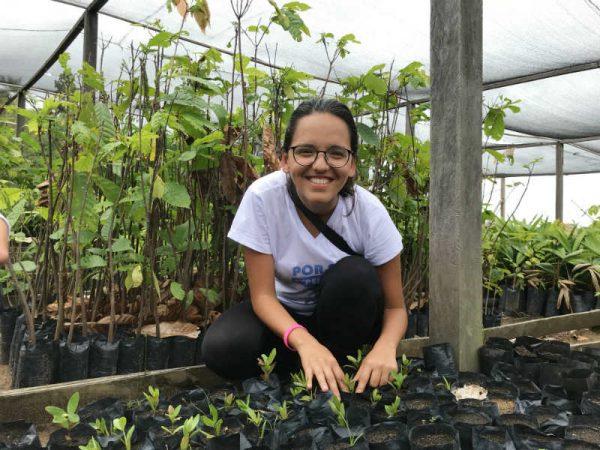 trabalho voluntario na amazonia iris social