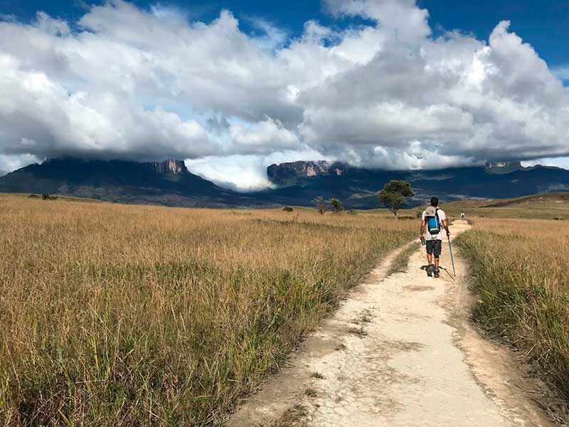trekking monte roraima trilha