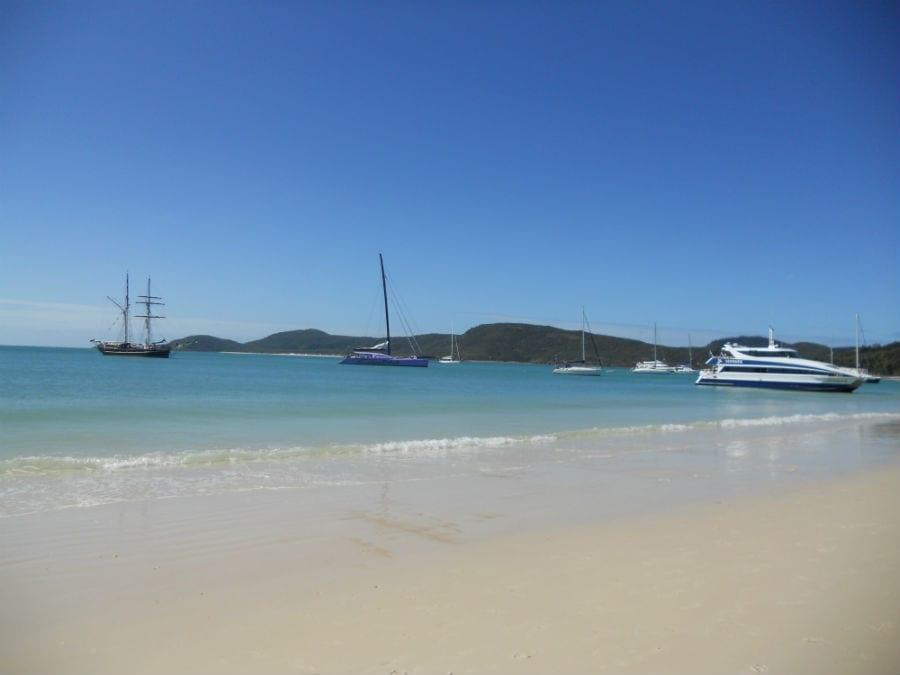 whitsundays australia white haven beach